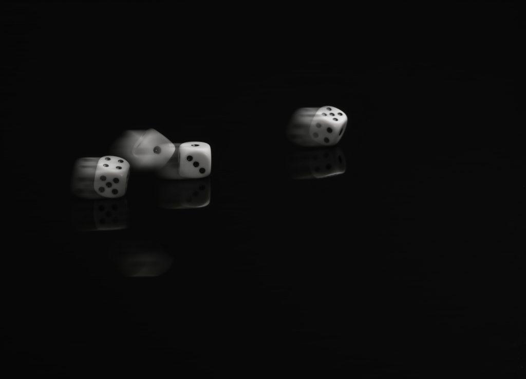 """""""Tärningen är kastad"""" av Leif Eliasson. 3:a - Digitalcup 2 """"Tur"""""""