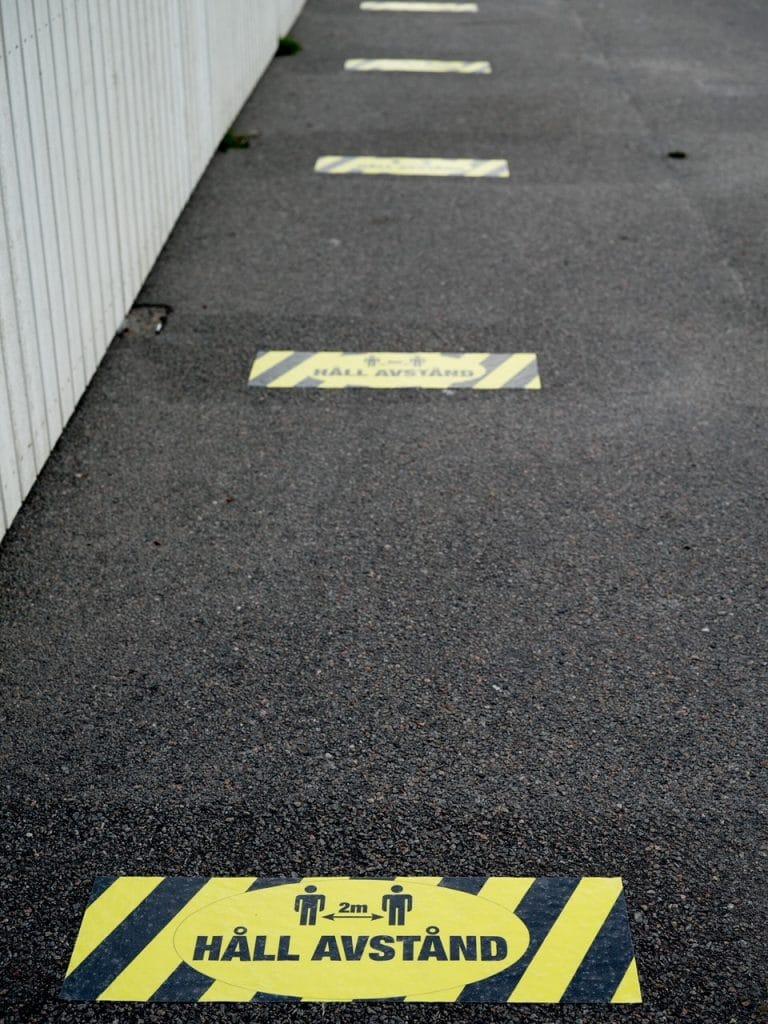 """""""Fysisk distans"""" av Leif Eliasson. 2:a - Digitalcup 4 """"Mätt"""""""