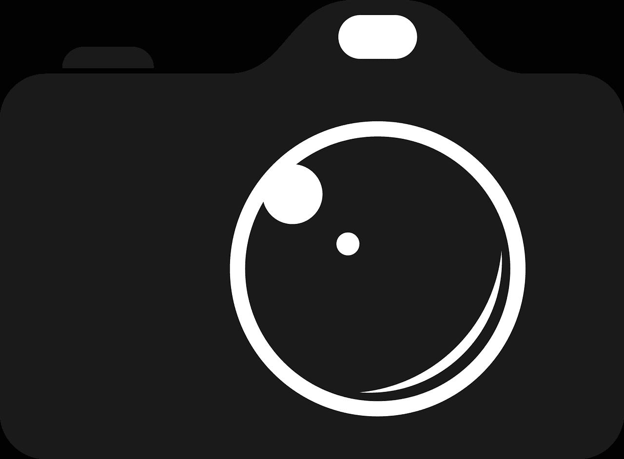 camera, photo, black